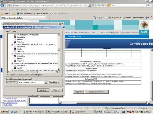 Iniciar y generar scripts Activex no marcados como seguros para scripts